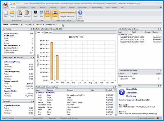 CRM-Express eSales Screenshot 1