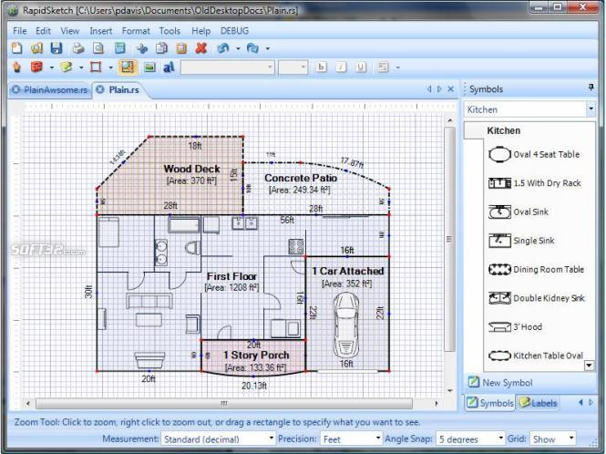 RapidSketch-Floor Plan & Area Calculator Screenshot 2