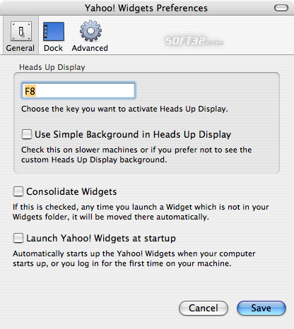 Yahoo! Widgets Engine Screenshot 3