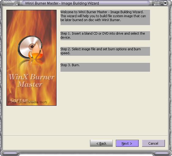 WinX Burner Master Screenshot 4