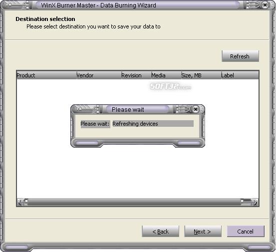 WinX Burner Master Screenshot 5