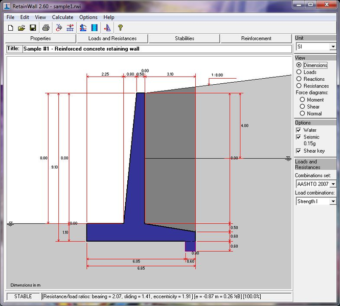 RetainWall Screenshot 1