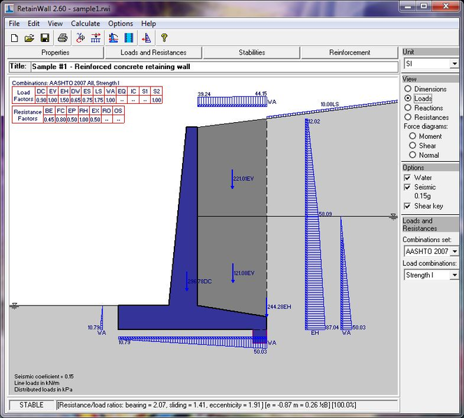 RetainWall Screenshot 2