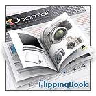 FlippingBook joomla extension Screenshot