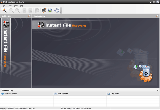 Disk Doctors Instant File Recovery Screenshot