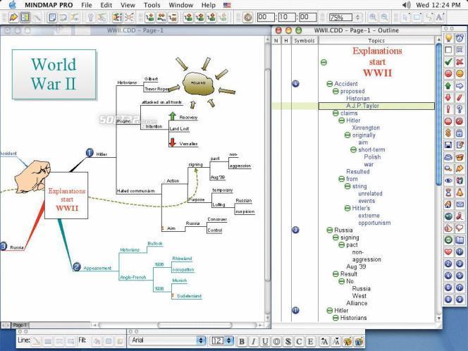 ConceptDraw MINDMAP Personal Screenshot 1