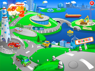 Merry Motors 2: Megapolis Screenshot