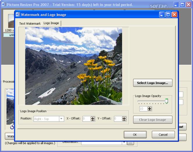 Picture Resizer Pro 2007 Screenshot 5