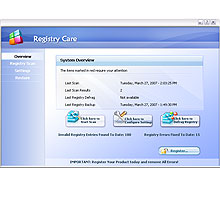 Free Registry Care Screenshot