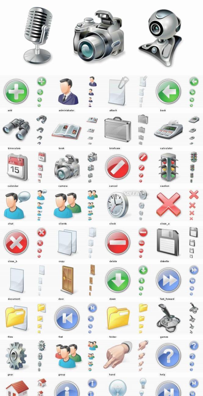 50.000 Vista Icons - Full Vista Bundle Screenshot 3