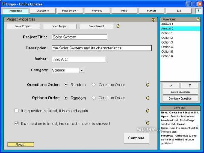 Daypo Online Tests Screenshot 3