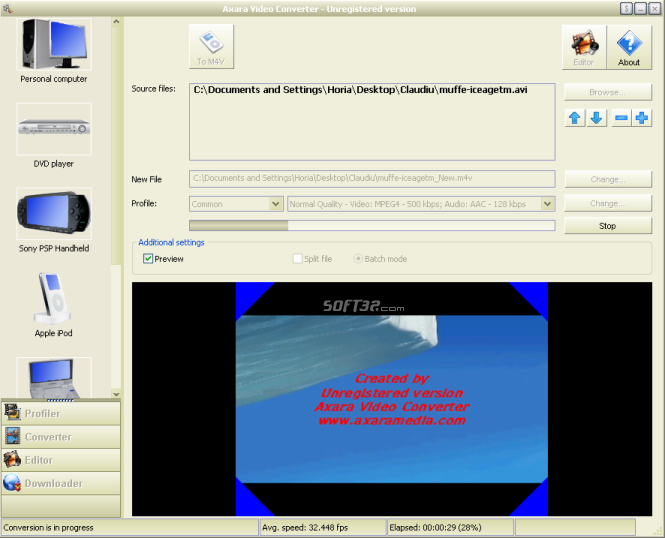 Axara Video Converter 12 Screenshot 5