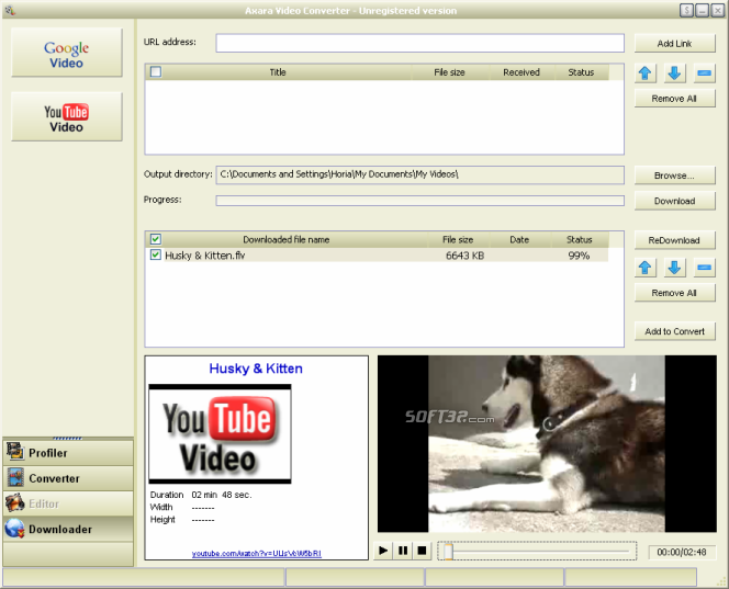 Axara Video Converter 12 Screenshot 6