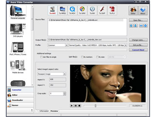 Axara Video Converter 12 Screenshot 1