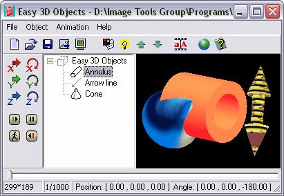 Easy 3D Objects Screenshot