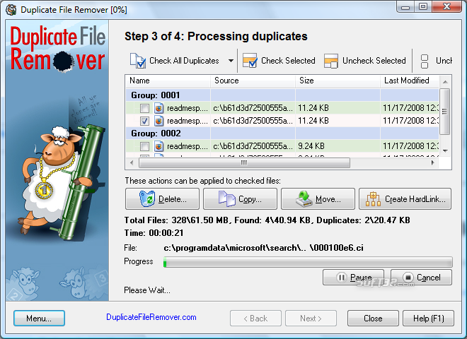 Duplicate File Remover Screenshot 6