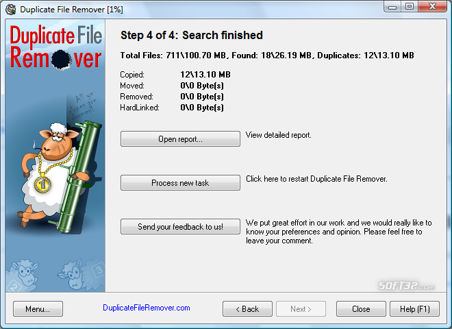 Duplicate File Remover Screenshot 7