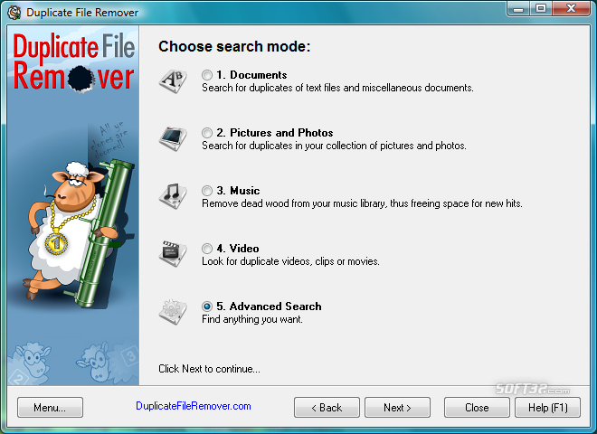 Duplicate File Remover Screenshot 8