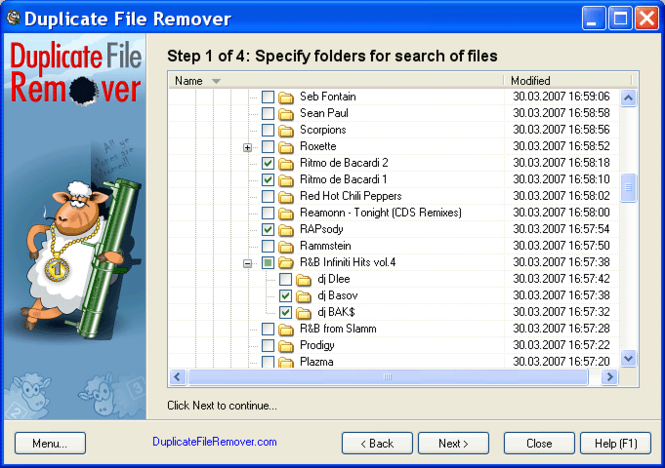 Duplicate File Remover Screenshot 1