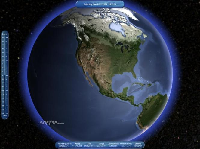 Living Globe Screenshot 2