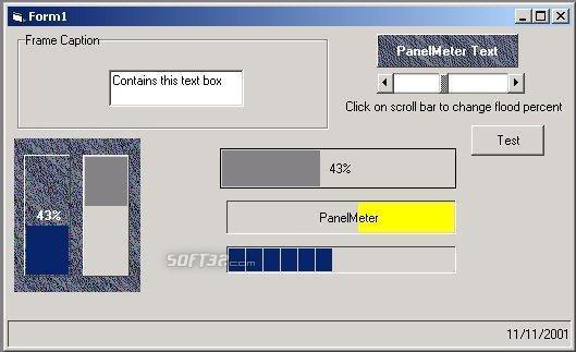 PanelMeter Screenshot