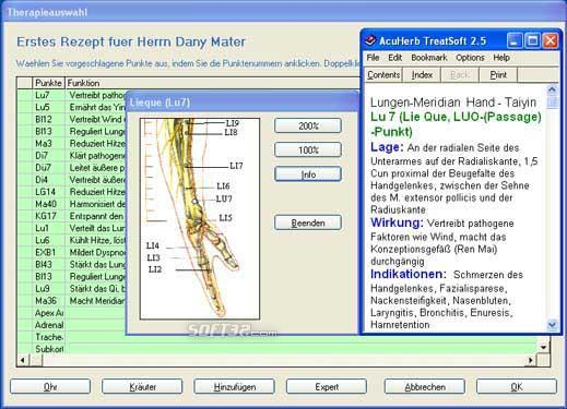 AcuHerb TreatSoft German Screenshot 2