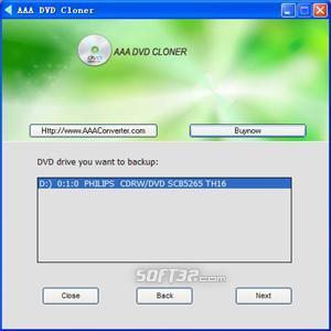 AAA DVD Cloner Screenshot 2