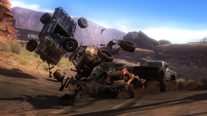 Motorstorm Screensaver (PS3) Screenshot