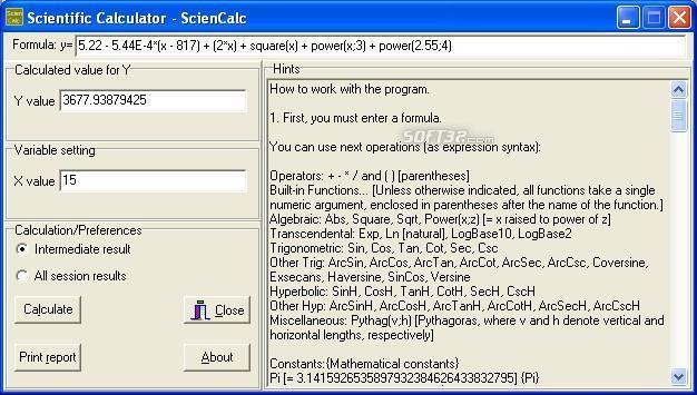 Scientific Calculator - ScienCalc Screenshot 3