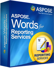 Aspose.Words for Reporting Services Screenshot