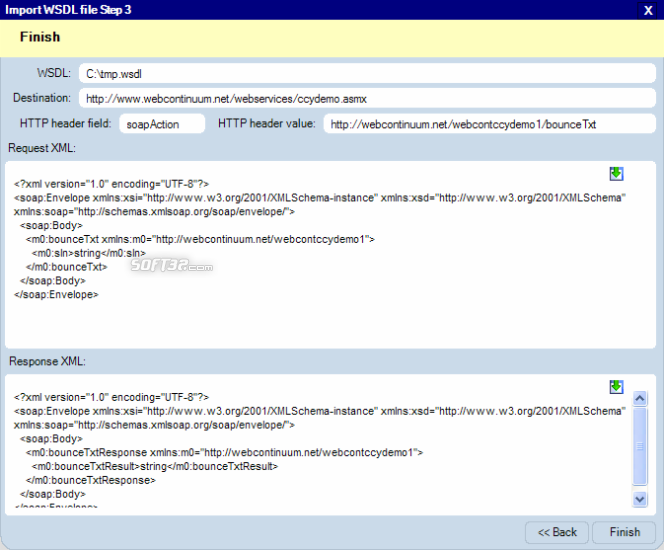 XML Transmitter Screenshot 6