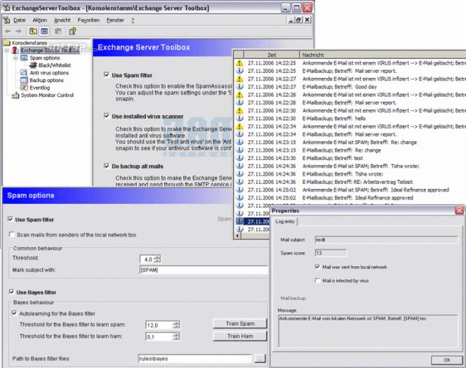 Exchange Server Toolbox Screenshot 3