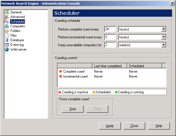 SoftPerfect Network Search Engine Screenshot