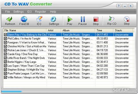 CD To WAV Converter Screenshot 3