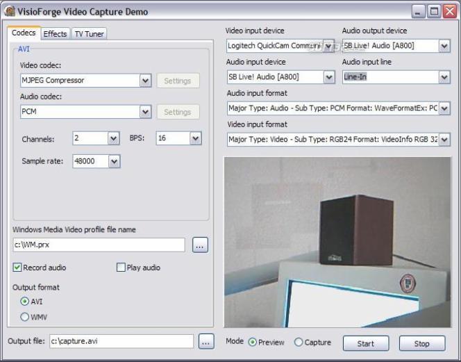VisioForge Video Capture SDK (Delphi Version) Screenshot 3