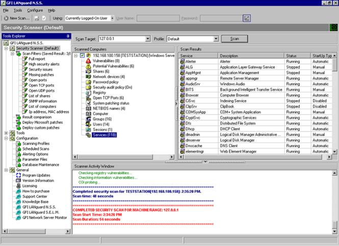 GFI LanGuard Screenshot 3