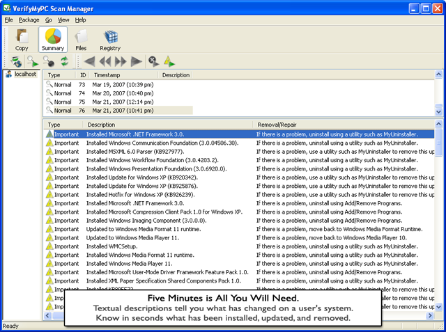 VerifyMyPC Screenshot