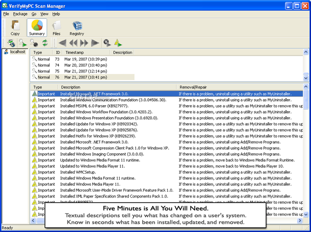 VerifyMyPC Screenshot 2