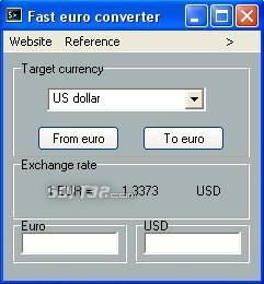 Tiny euro converter Screenshot 2