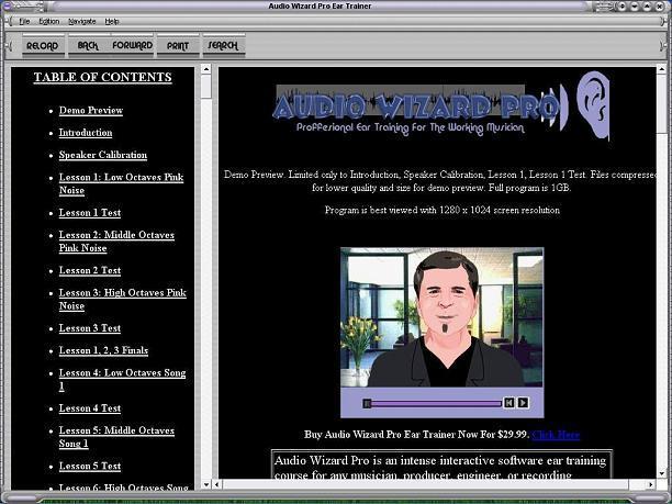 Audio Wizard Pro Ear Training Screenshot