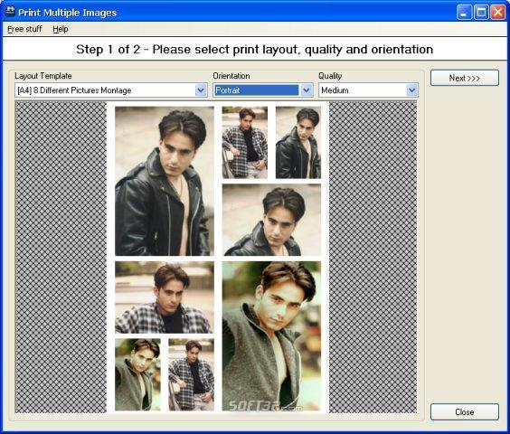 Pos Multiple Image Printing Wizard Screenshot 2