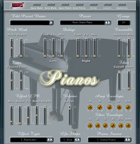 Pianos Screenshot 1