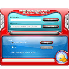 McFunSoft DVD to iPod Video Rip/Convert Workshop Screenshot