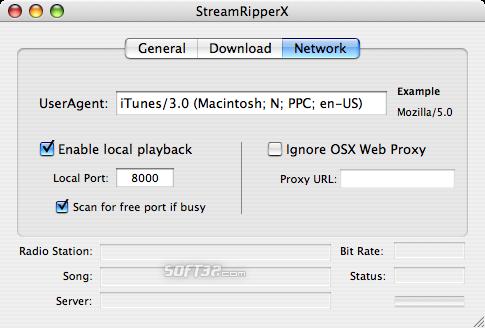 StreamRipperX Screenshot 3