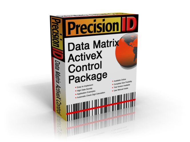 PrecisionID Data Matrix ActiveX Control Screenshot