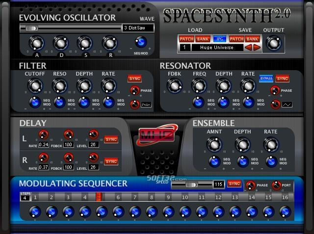 Space Synthesizer Screenshot 3