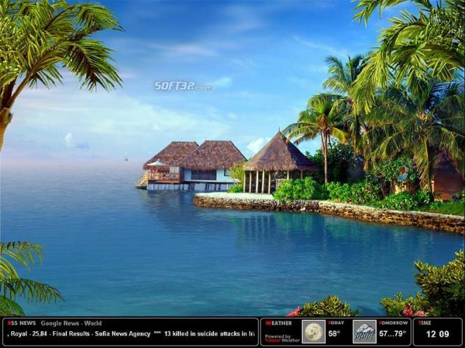 Tropical Dream Screensaver Screenshot 3