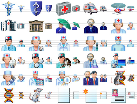 Health Care Icons Screenshot