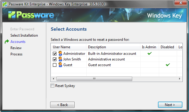 Windows Key Screenshot 1