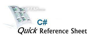 C# Quick Reference Screenshot 2